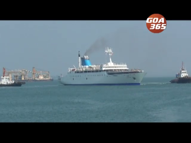 1st Domestic cruise liner Angriya, brings in 200 from Mumbai on maiden journey