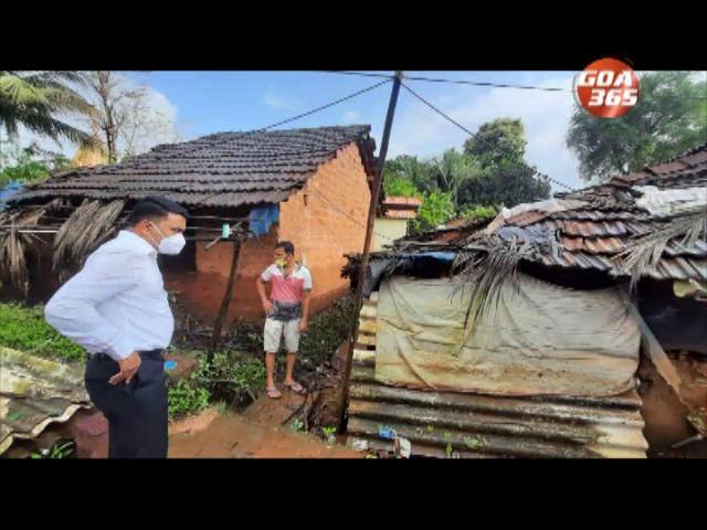 CM,dep CM visits flood affected areas; promises aid
