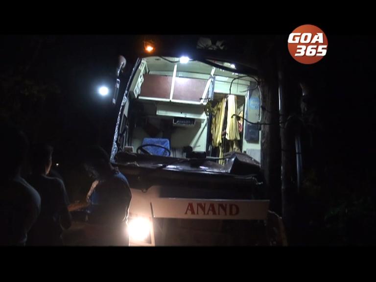 Bus hits tree at Balli, 10 passengers injured