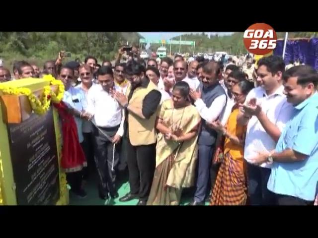 'Manohar Parrikar' bypass opened in Canacona, CM assures to build footbridge
