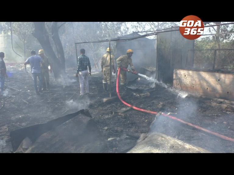 SGPDA dump yard catches fire