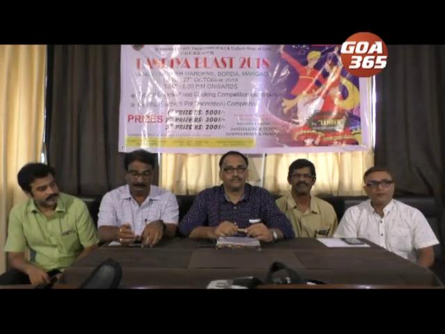 Dandiya Blast to be held on Oct 27 at Margao