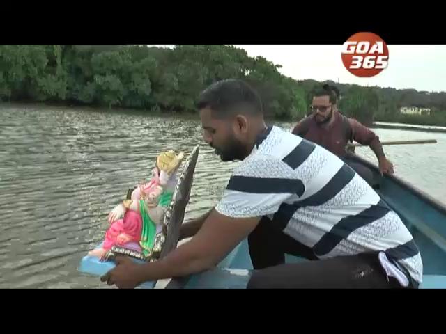 5 day Ganesh immersed, Goa gets into the mood of Sarvajanik Ganeshotsav