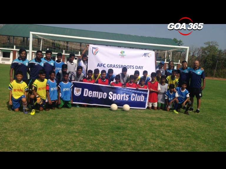 Dempo SC organized Grassroots festival on AFC Grassroot day