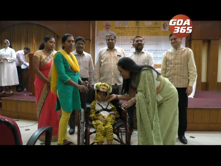 International day of disabled held at Ravindra Bhavan