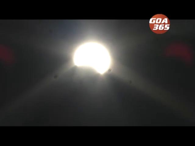 Goans experience annular solar eclipse
