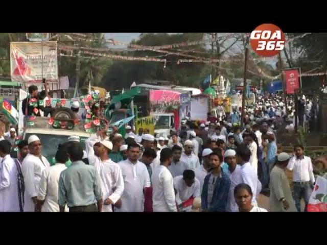 Eid-E-Milad-Un-Nabi celebrated at Bicholim