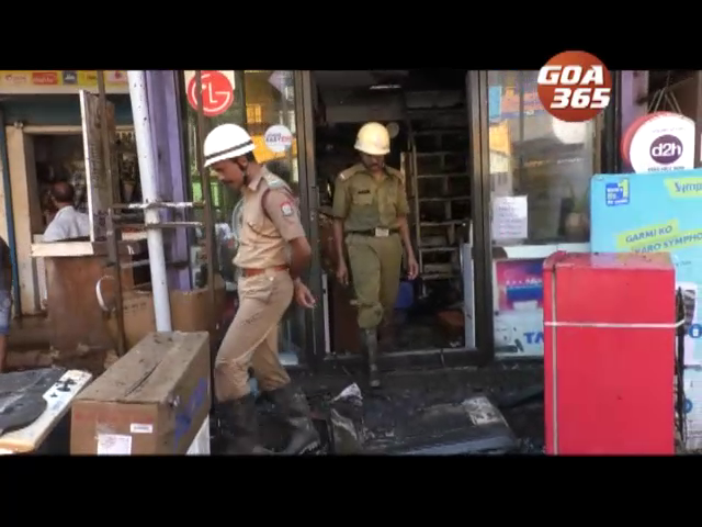 Shop gutted in fire at Taleigao