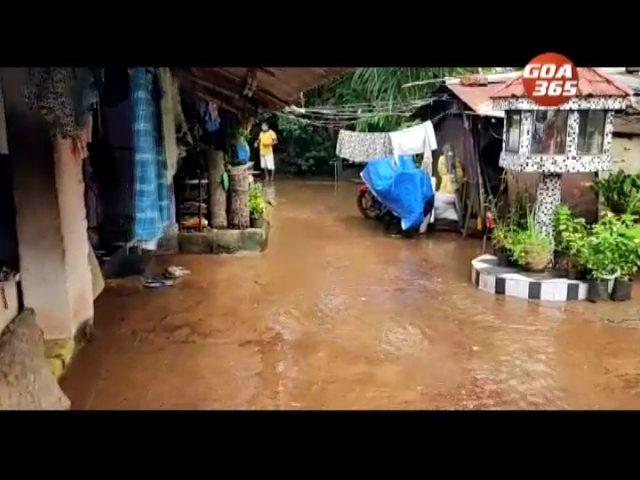 Heavy rains result in house getting flooded at Paroda