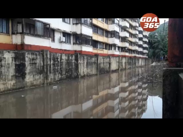 1 week rain and floods leave Caranzalem locals flabbergasted