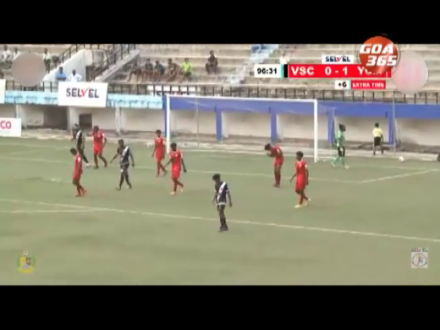 Youth Club od Manora score a solitary goal victory over Vasco Sports Club