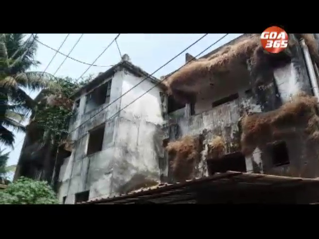 Calangute Building: Are people really staying here?