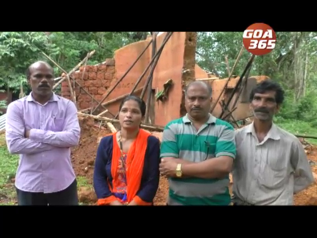 Rain stopped tragedy continues, house collapsed at Bethora