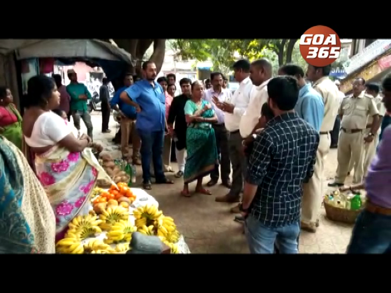 MMC inspects Vasco Market, vendors request space for business
