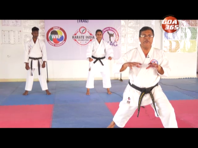Karate with Sensei Joseph Rodrigues: Basic Punch and stance