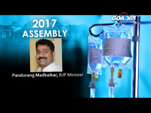 Madkaikar operated after brain stroke, 5th MLA suffering with serious ailment