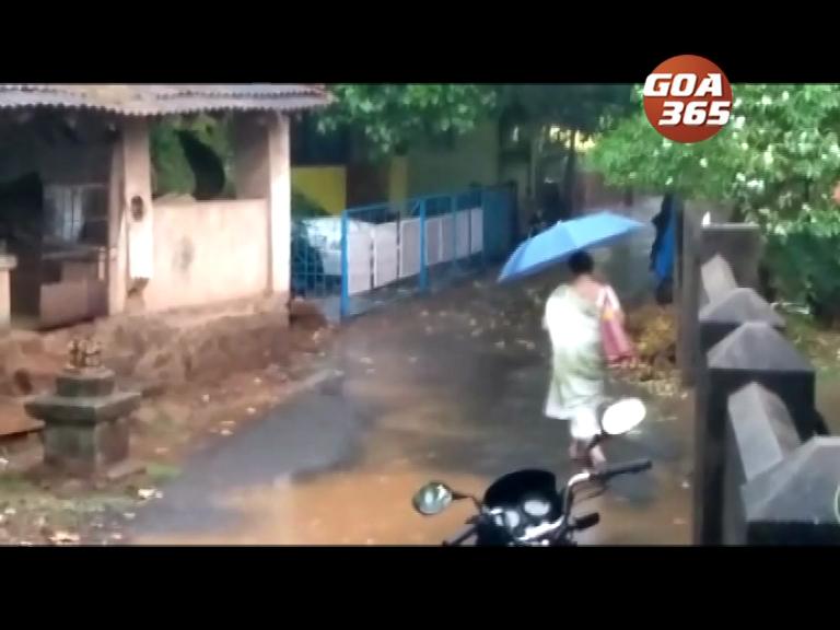 Goa experiences pre-monsoon showers