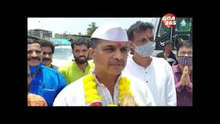 2-day Saptah ends with immersion of Shreefal