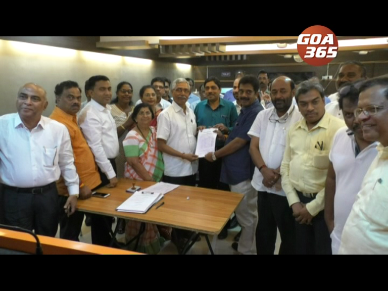 Only one nomination each for BJP state president, national council members: Parvatkar