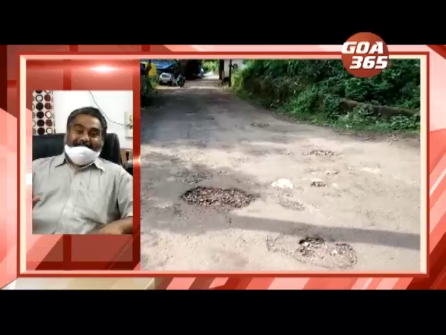 Repair Kavlem roads, or else two-wheeler will break into pieces: Sarpanch