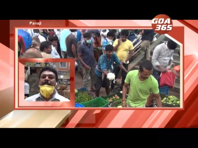 People hoard to gather essential commodities