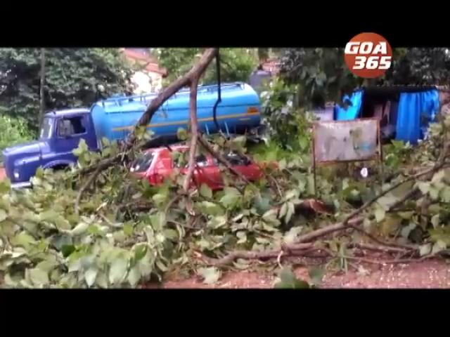 Mini storm creates havoc in Ponda