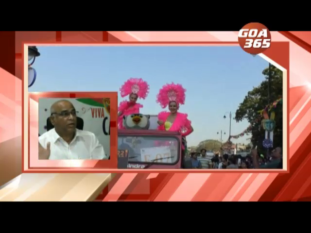 Babu's 'Owl' promotes his Club in Carnival parade