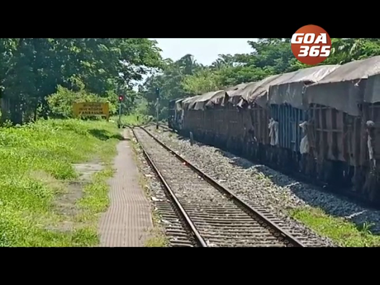 Woman injured while crossing railway track
