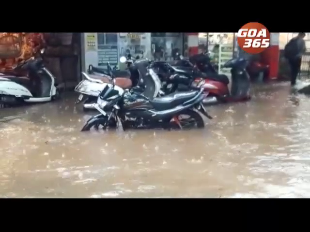 Goa report floods, tree falling incident due to heavy rains