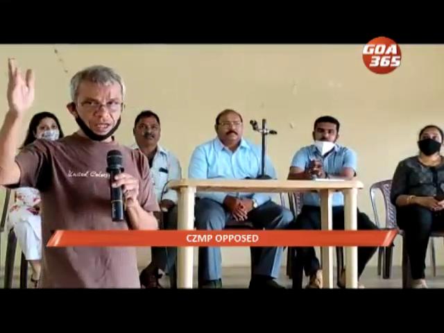 Curtorim panchayat opposes CZMP, citing goof ups in plan