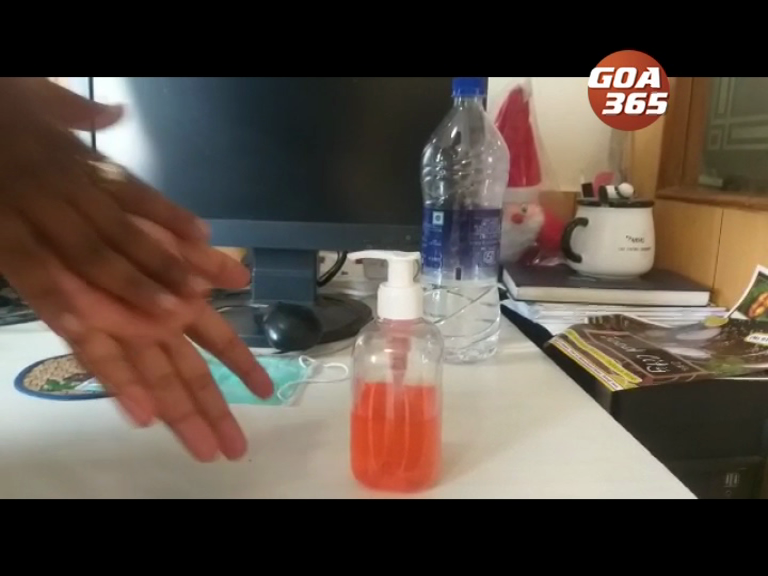 Lack of hand sanitisers creating concern in Goa