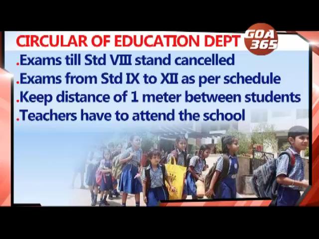 CORONA: Govt shuts down schools for students up to Std VIII, CM denies indoor meets