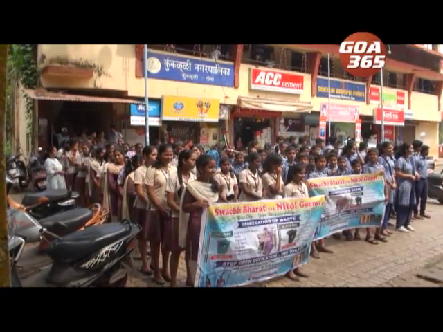 Awareness programme on garbage segregation held at Cuncolim