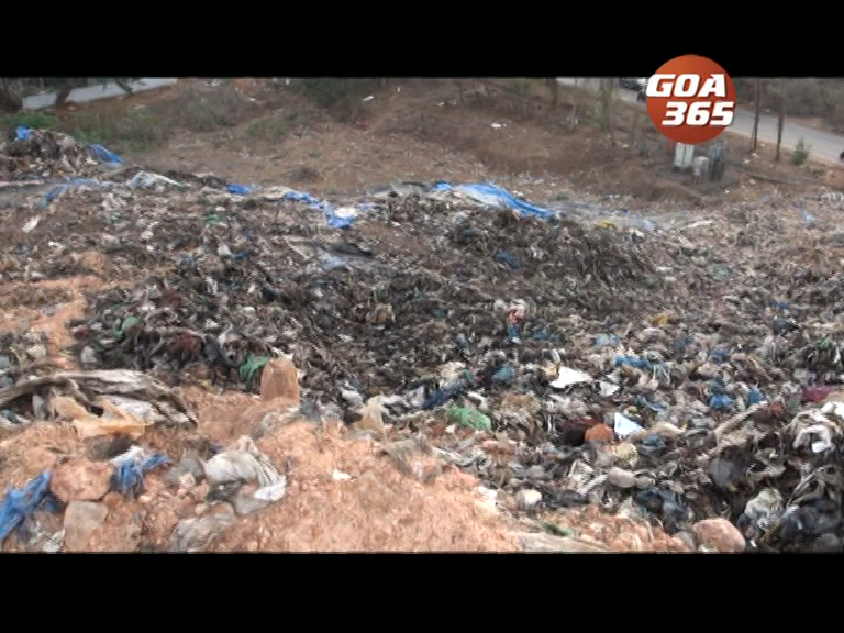 Smoke emanates from Sonsoddo dump, scares locals