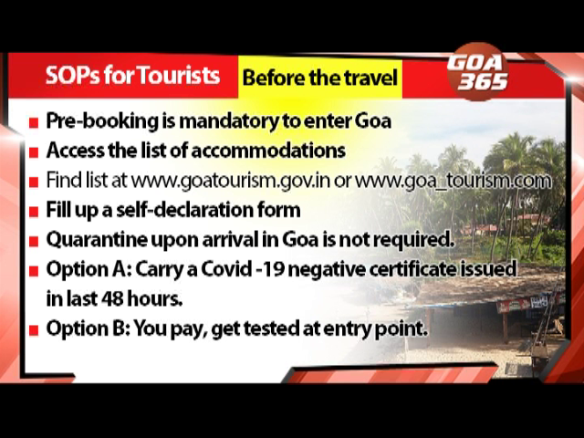 Goa welcomes tourists - but they have to follow SOPs