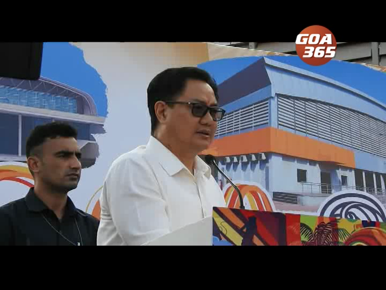 More sports infrastructure coming to Goa: Union Sports Min Kiren