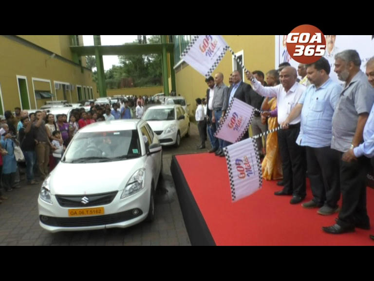 'Goa Miles' App-based taxi service launched amid protest