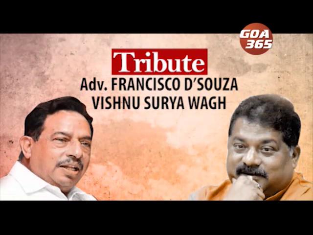 Tribute to vishnu wagh  & Francis de'souza