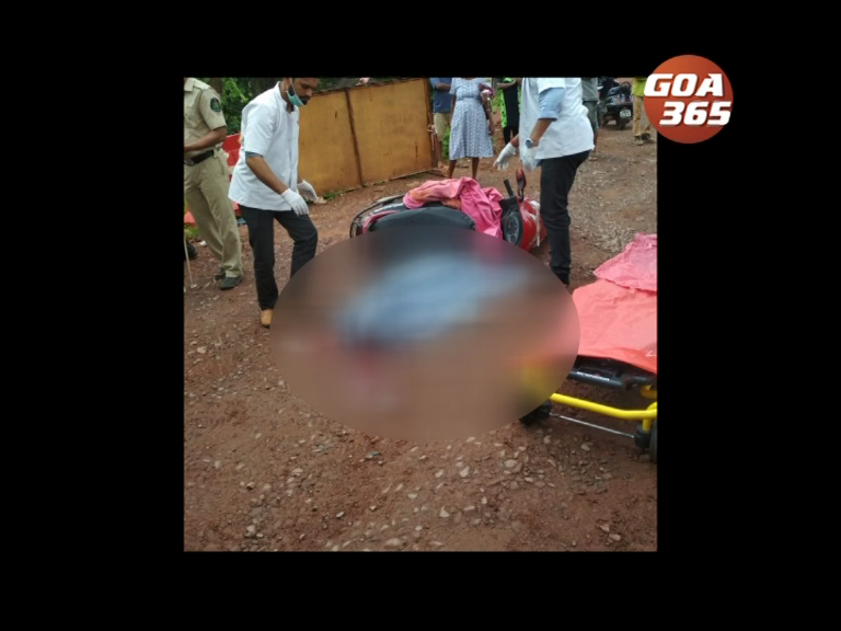 70-year-old lady crushed under the wheels at Cortalim