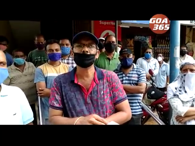 Cuncolim market vendors demand relief, say no business for 3 months