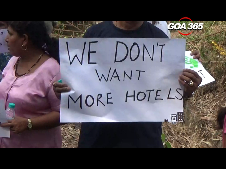 Cansaulim villagers hold protest march against 7 star hotel