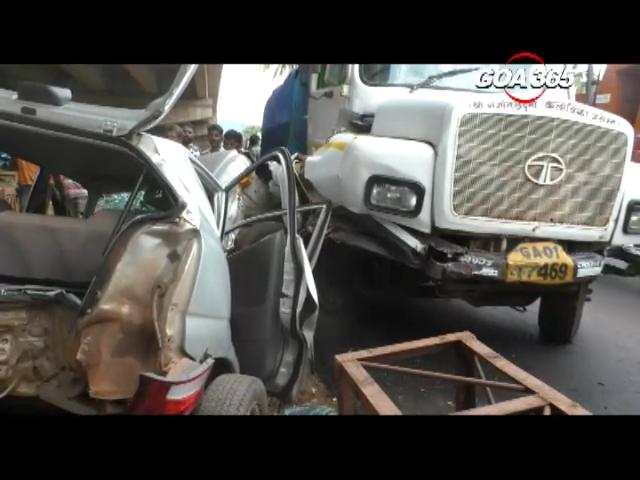 Road mishap in Curti, 2 injured