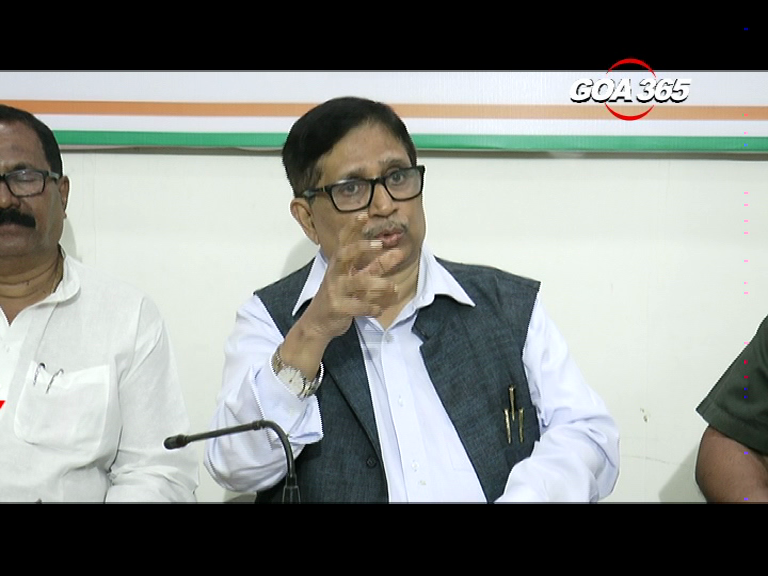 'Parrikar will betray Goa on Mhadei' says Congress, CM says claim nonsense