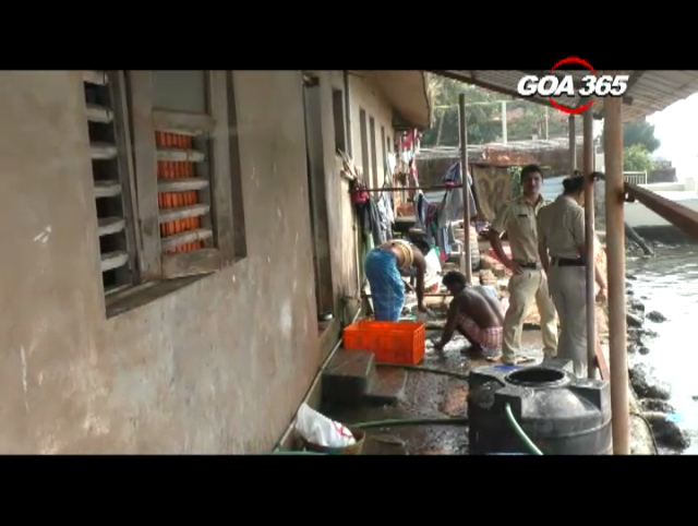 Income Tax department On Wednesday raided a fish dealer in South Goa.