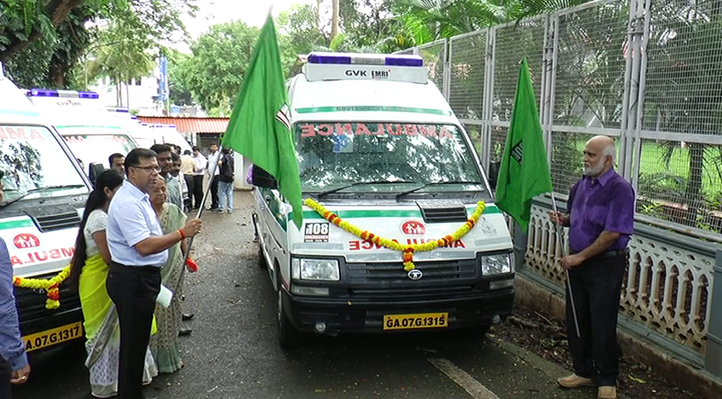10 108 ambulances launched; cardiac-care ambulances by October; health minister warns 108 employees not to be lax