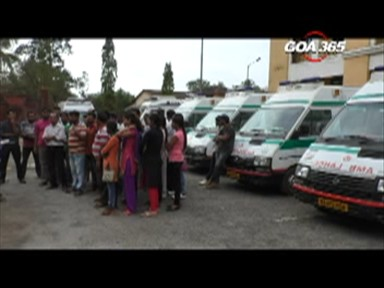 108 ambulances need first aid