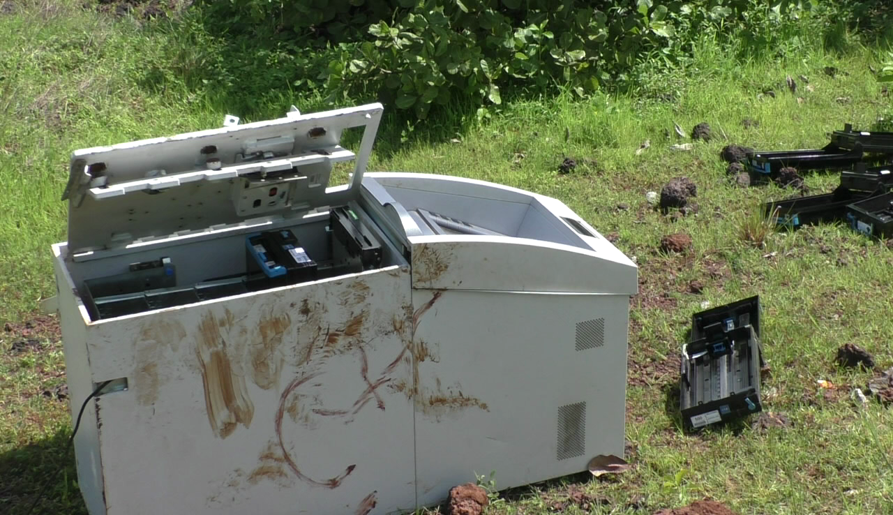 18 lakhs robbed from ATM machine, machine found in Agarwada forest