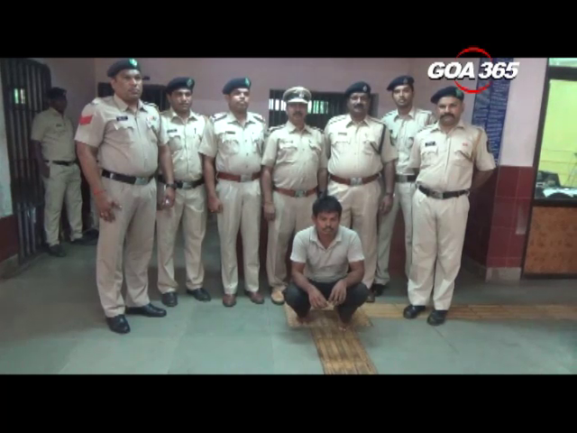 1kg ganja seized by Vasco Police, accused arrested