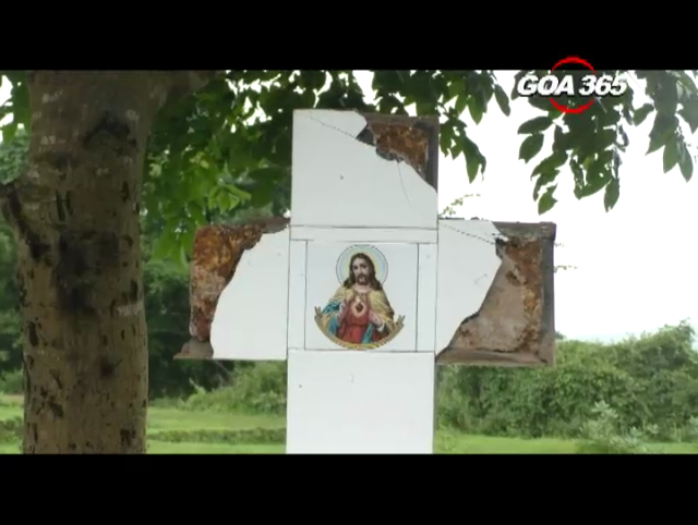 2 more crosses in Loutolim desecrated; 1 renovated by Hindus