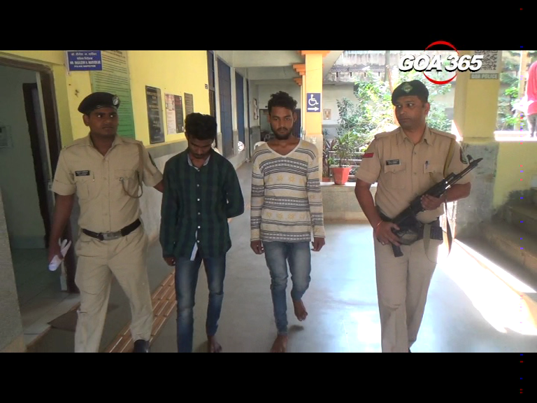 2 theft accused arrested